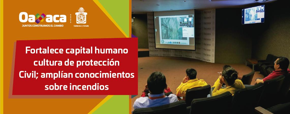 Fortalece capital humano cultura de protección  Civil; amplían conocimientos sobre incendios
