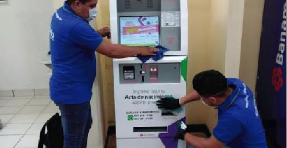 Sanitiza Registro Civil de Oaxaca Módulos de Servicios Digitales contra COVID-19