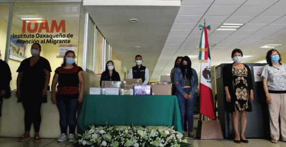 Entrega IOAM restos mortuorios de migrantes fallecidos  por COVID-19 en los Estados Unidos