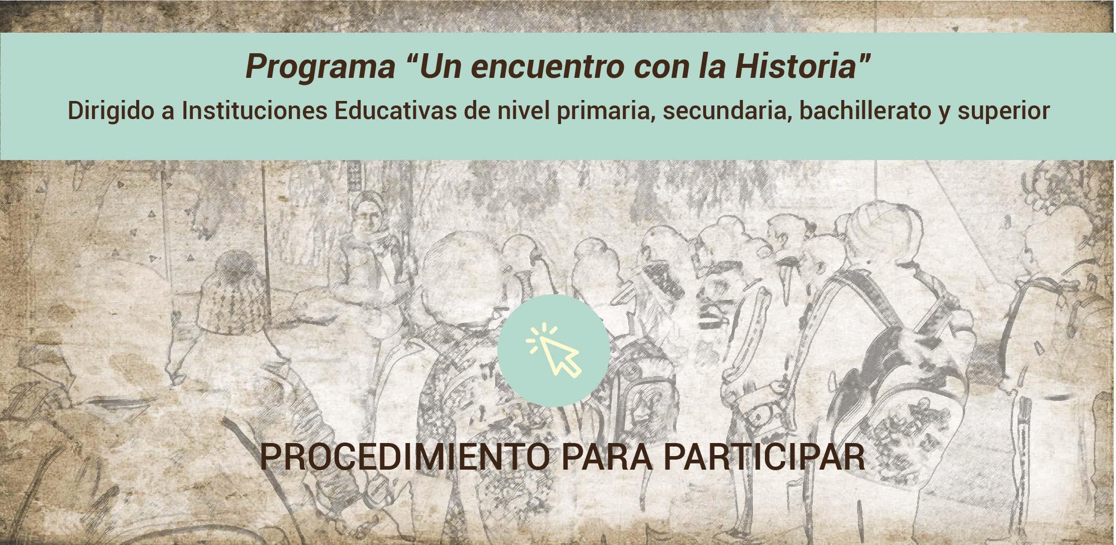 """Recorridos escolares """"Un Encuentro con la Historia"""""""