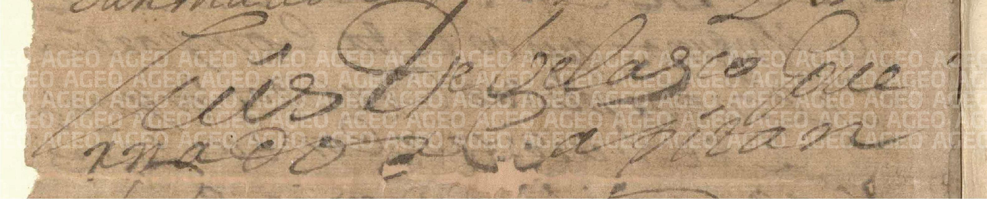 Firma Virrey Luis de Velasco