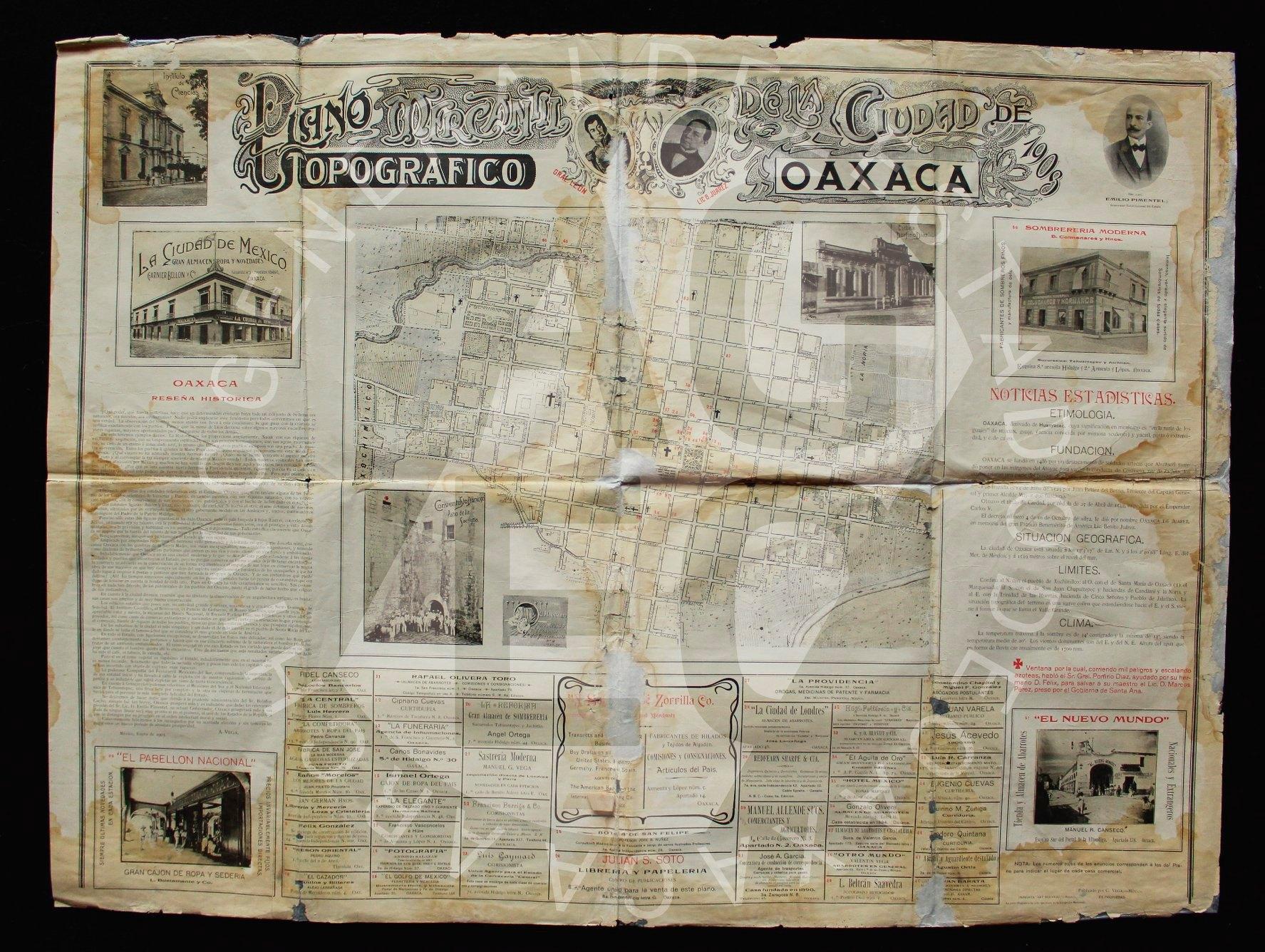 Vestigios de encuadernaciones antiguas en el Archivo General del Estado de Oaxaca