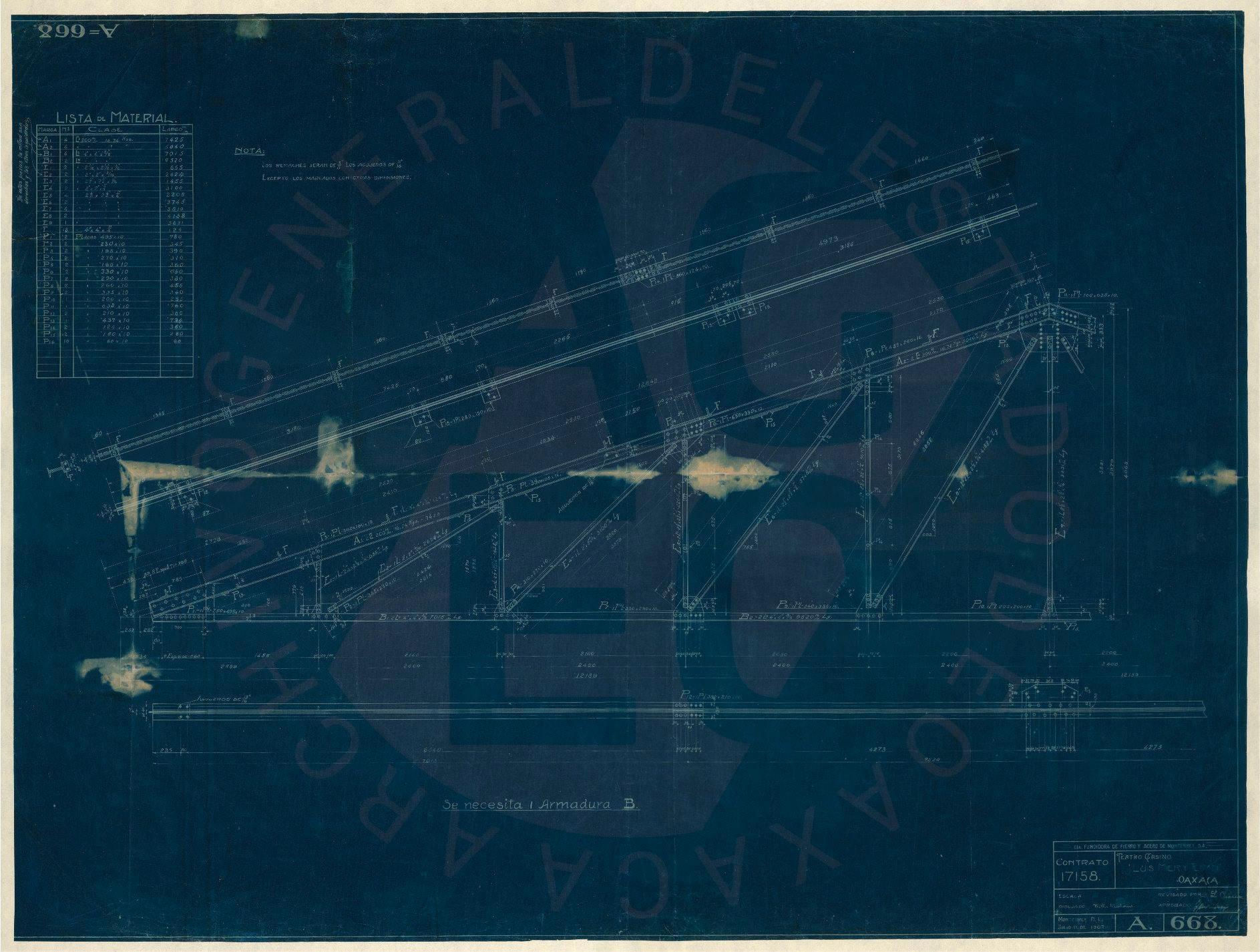 Plano 76. Julio 11 de 1907.