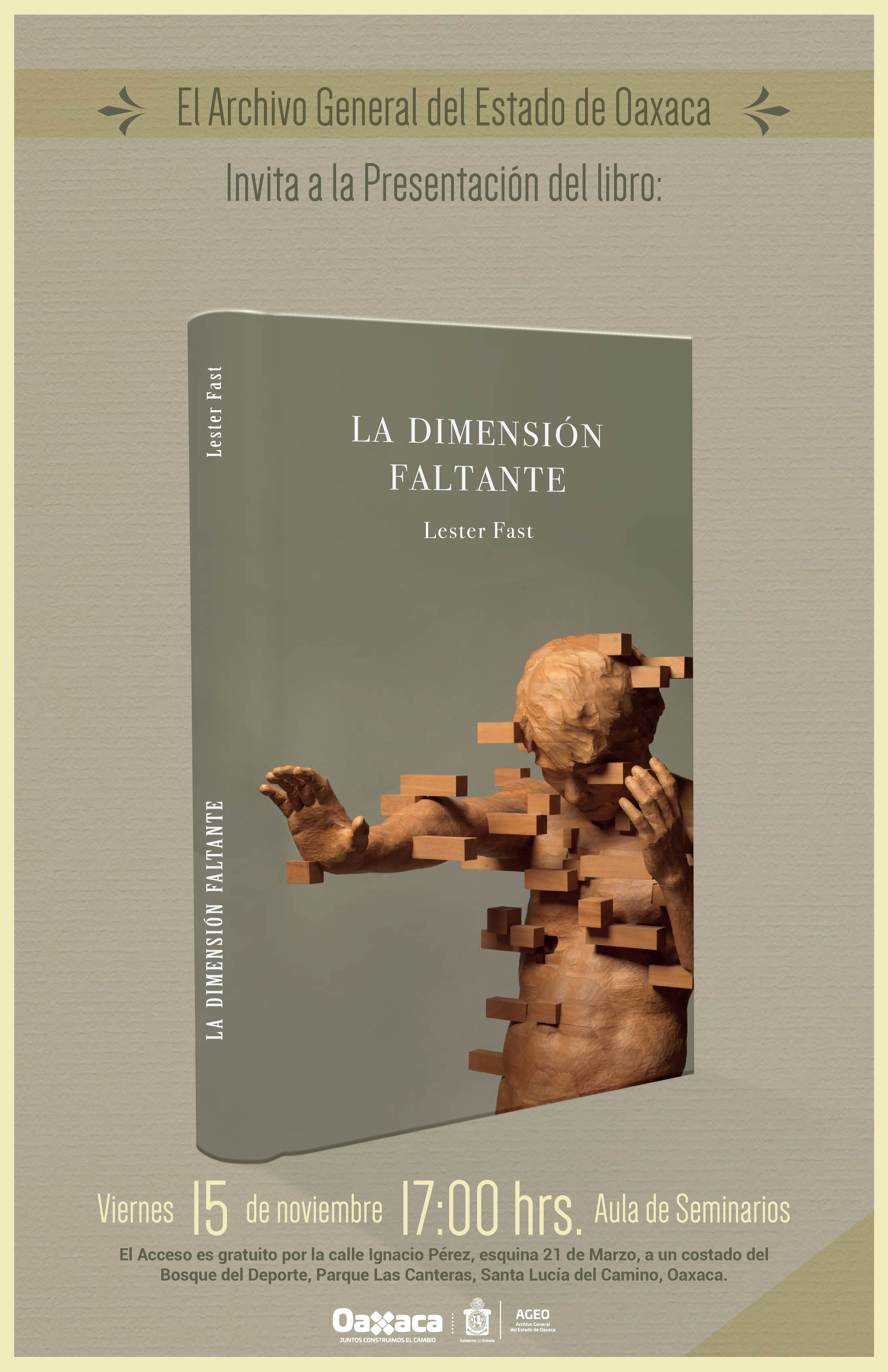 """Presentación del libro """"La dimensión faltante"""""""