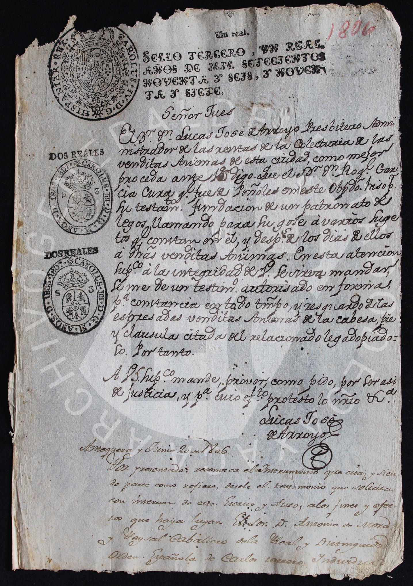 Obras pías, capellanías y testamentos en el Archivo General del Estado de Oaxaca