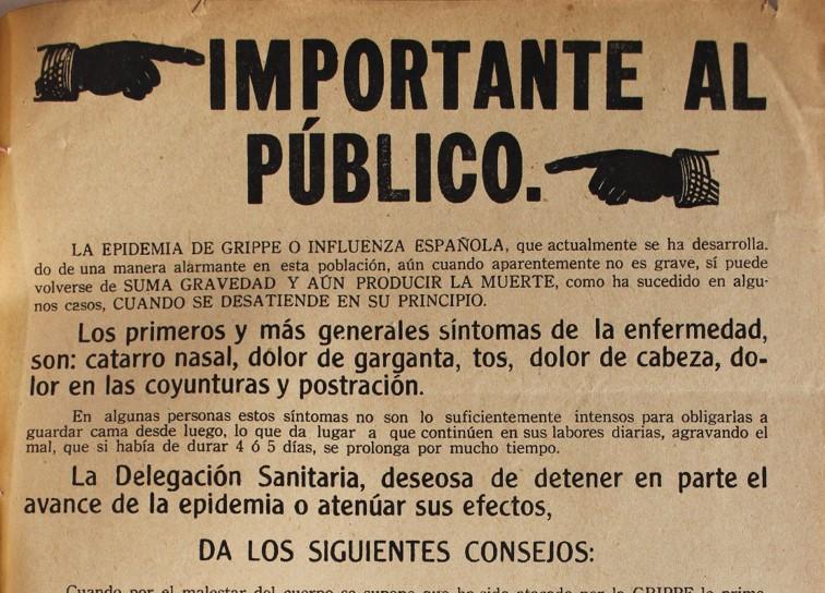 La influenza española de 1918 a 1922 en Oaxaca