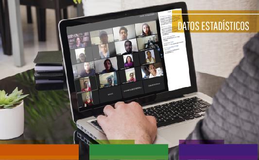 Datos estadísticos sobre capacitaciones y asesorías en el AGEO – Abril-Junio
