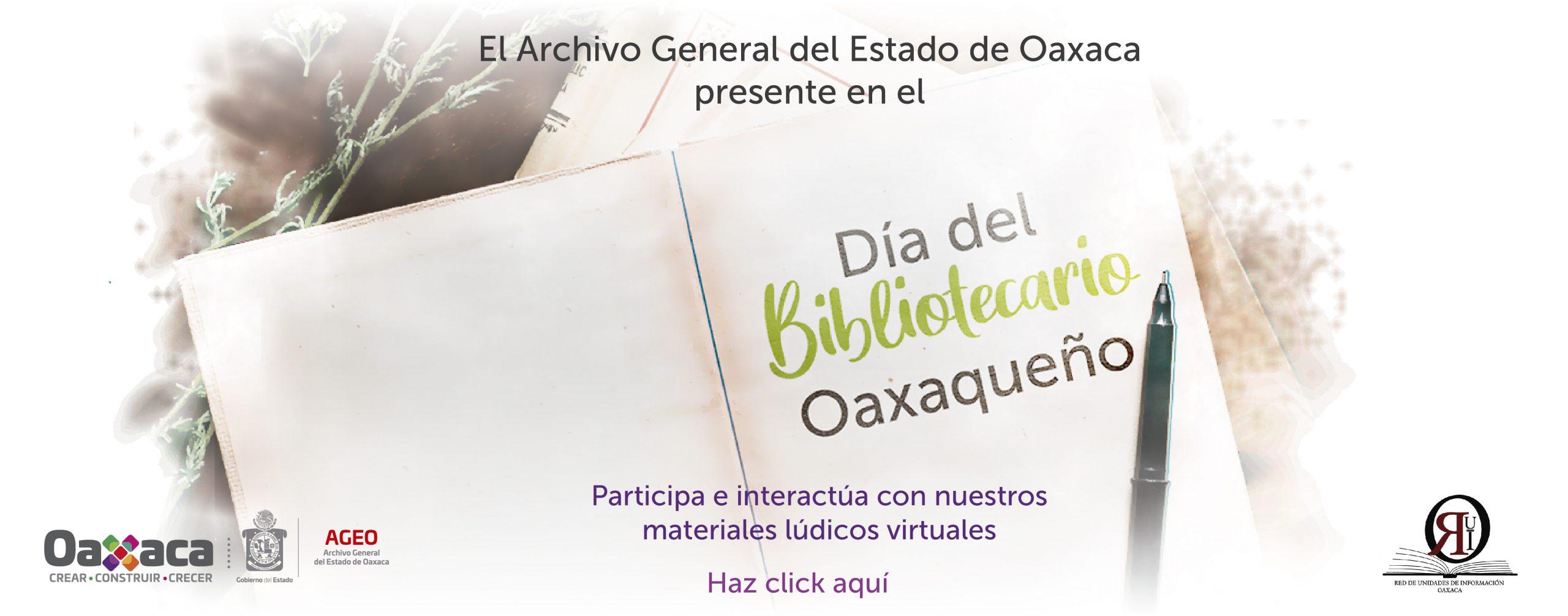 Día del Bibliotecario Oaxaqueño