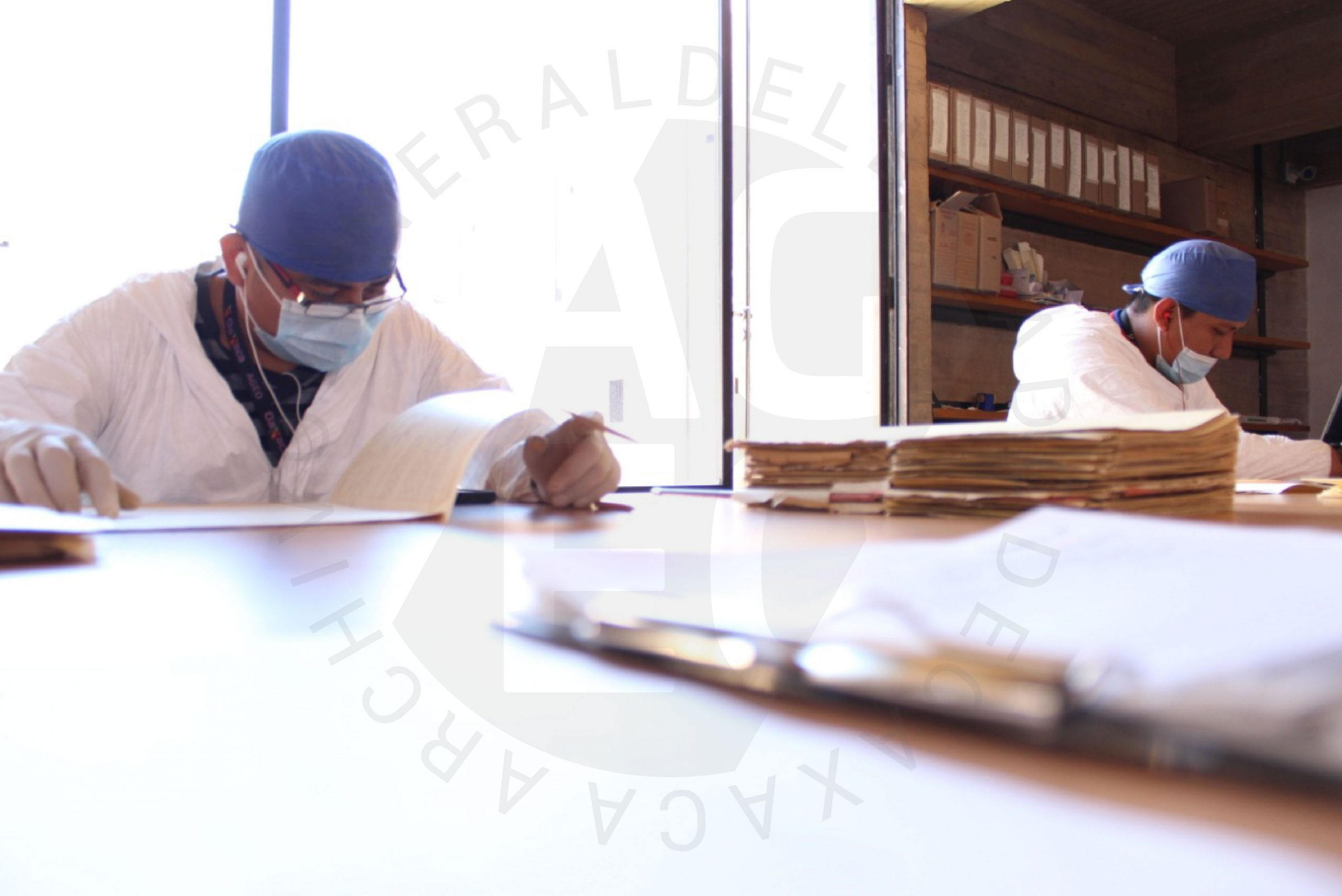 Mi experiencia laboral en el Archivo General del Estado de Oaxaca.