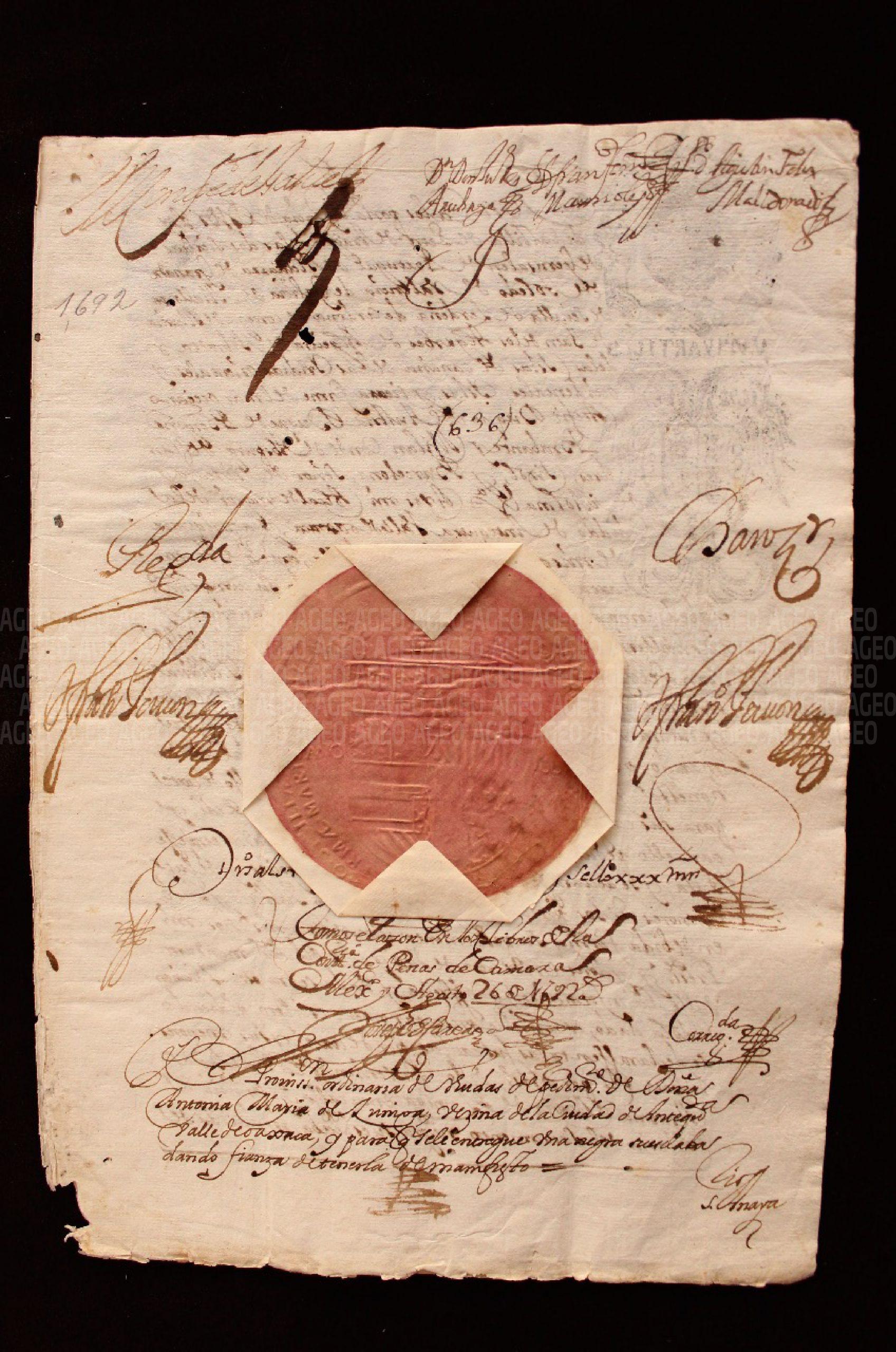 Mi contacto con documentos históricos