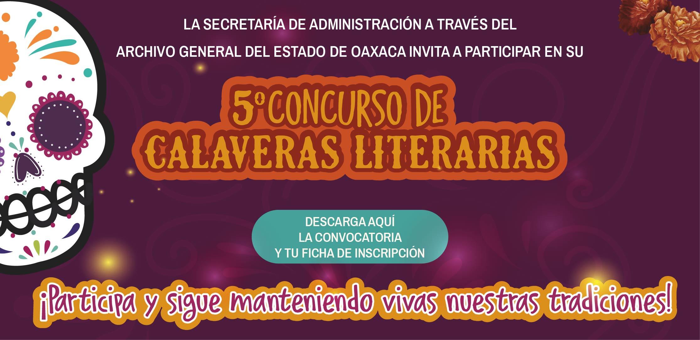 5° Concurso de Calaveras Literarias