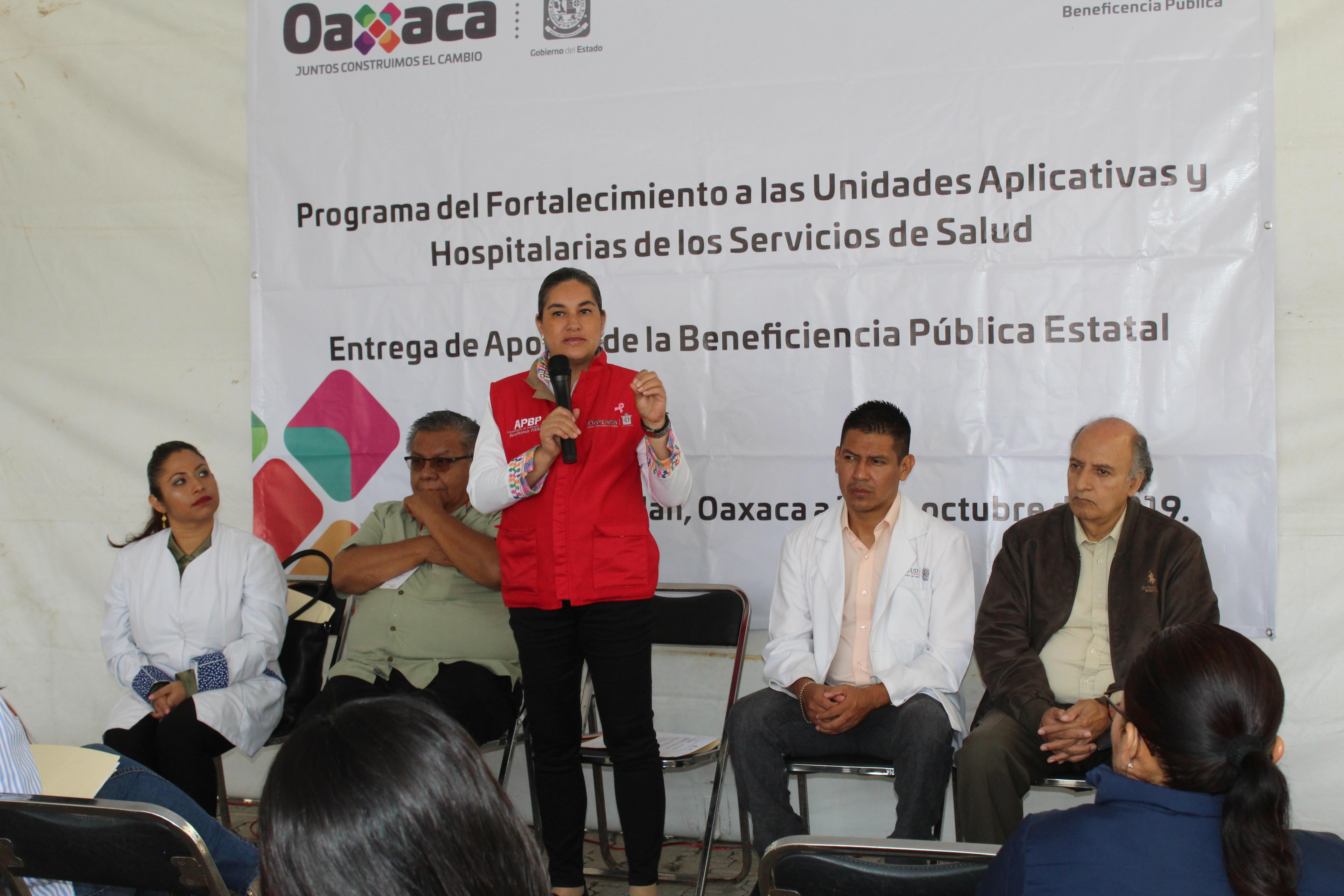 ENTREGA DE APOYOS DEL PROGRAMA DE FORTALECIMIENTO EN ASUNCIÓN NOCHIXTLÁN