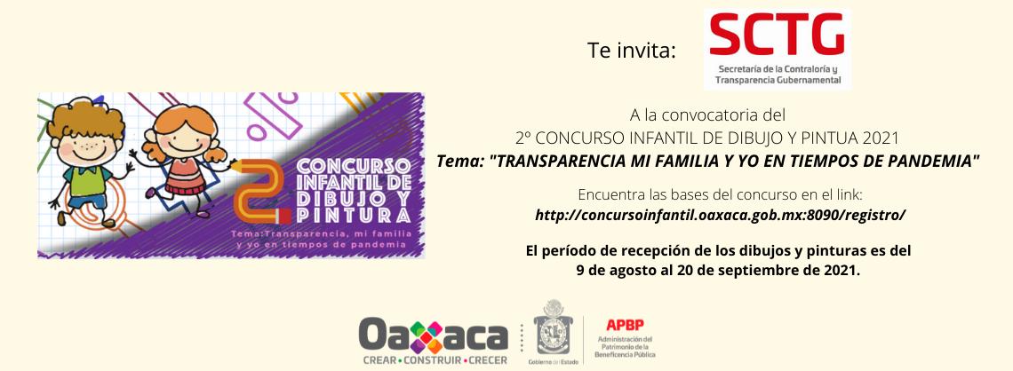 """2º CONCURSO INFANTIL DE DIBUJO Y PINTUA 2021 Tema: """"TRANSPARENCIA MI FAMILIA Y YO EN TIEMPOS DE PANDEMIA"""""""
