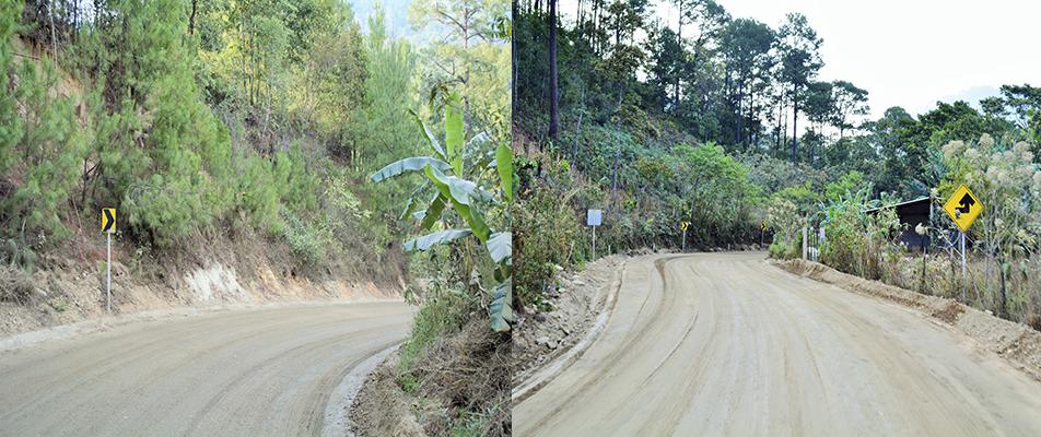 Rehabilita CAO la carretera Río Grande – Juquila.