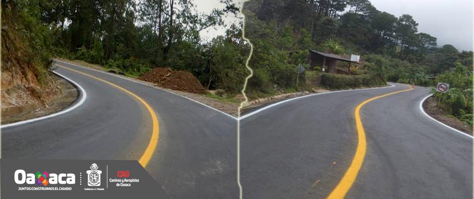 Concluye CAO rehabilitación de carreteras en la Costa.