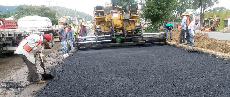 Continúa CAO con la ejecución de la obra carretera en Trinidad de Viguera.