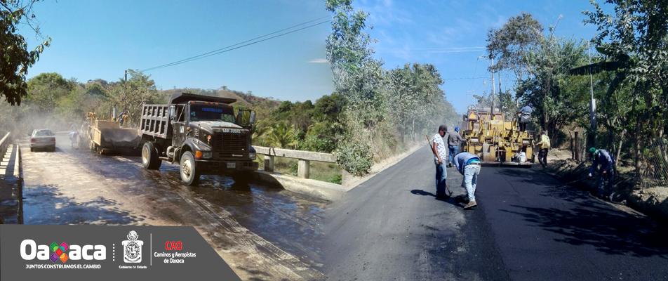 Se activa la conectividad en Pinotepa con obras de infraestructura carretera: CAO