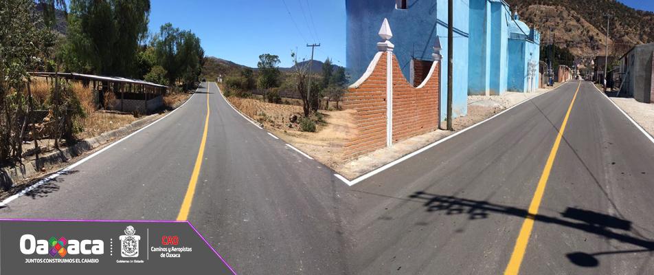 Ejecuta CAO obras para impulsar el desarrollo social en la Mixteca.