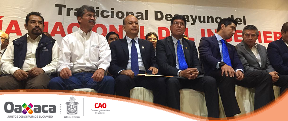 Ingeniería civil, fundamental para avanzar en el desarrollo de Oaxaca: CAO.