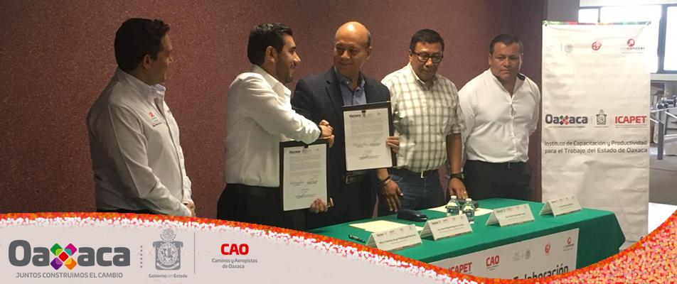 Ofrecerá ICAPET capacitación y certificación de competencias laborales a trabajadores de CAO.