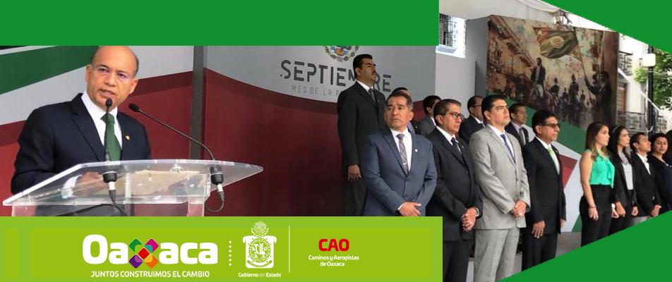 TITULAR DE CAO CONVOCA A CONSOLIDAR LAS ACCIONES DEL GOBIERNO CON UNIDAD Y COMPROMISO.