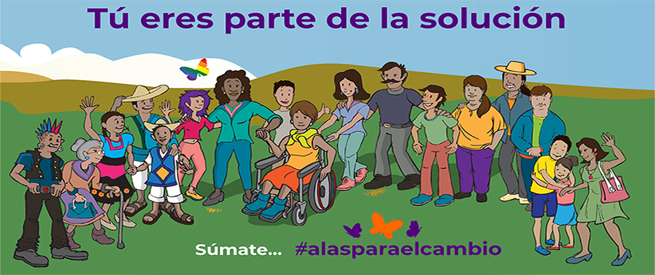 ALAS PARA EL CAMBIO, SÚMATE