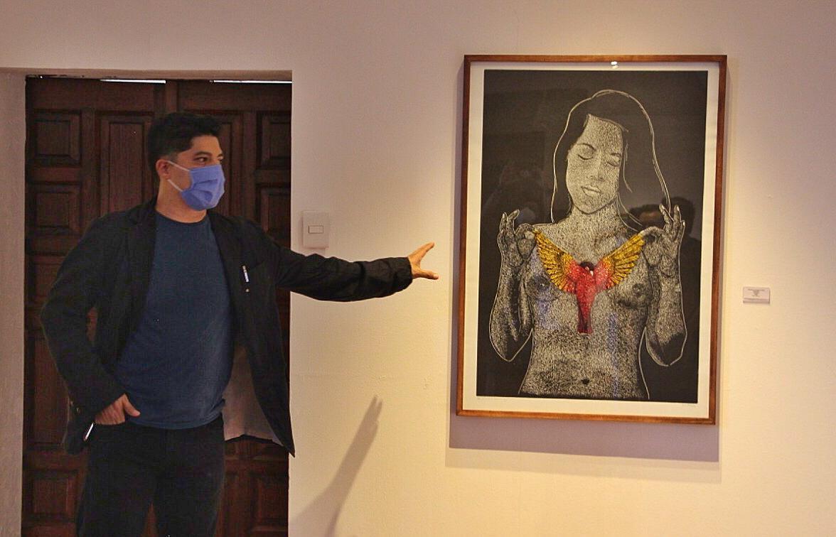 """Exhiben Darío Castillejos y el taller Oaxaca Gráfico su obra en la Galería """"Rufino Tamayo"""" de la CCO"""