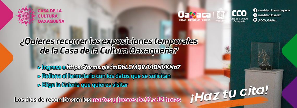 Reabren galerías de la Casa de la Cultura Oaxaqueña con estrictos protocolos sanitarios