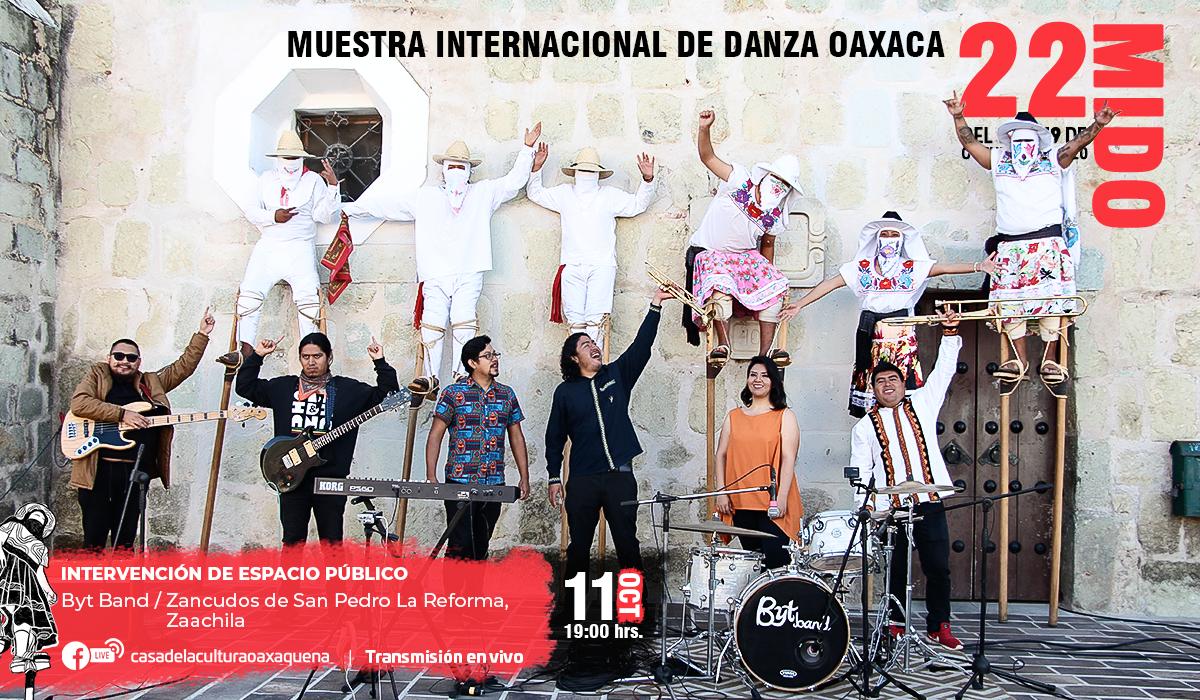 Con intervención de espacio público abre la 22 Muestra Internacional de Danza Oaxaca