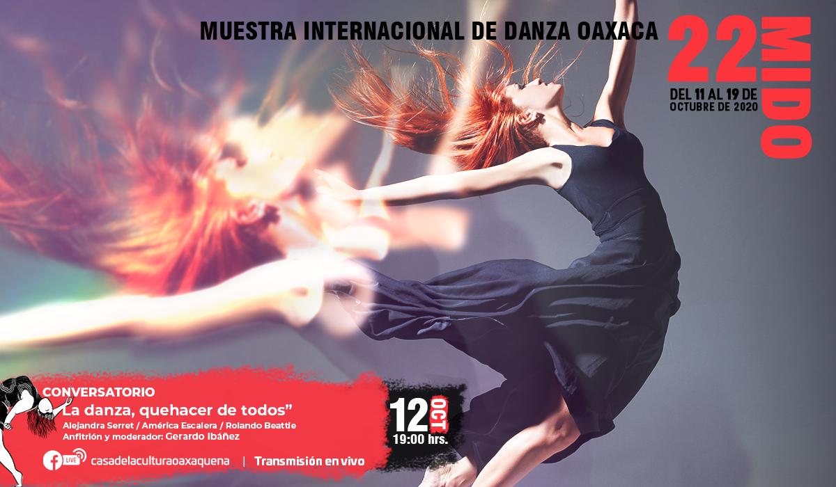 """Expertos en la danza contemporánea participarán en el conversatorio """"La danza, quehacer de todos"""""""
