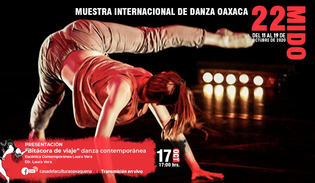 Escénica contemporánea Laura Vera y Jorge Luis Plata en la 22 MIDO