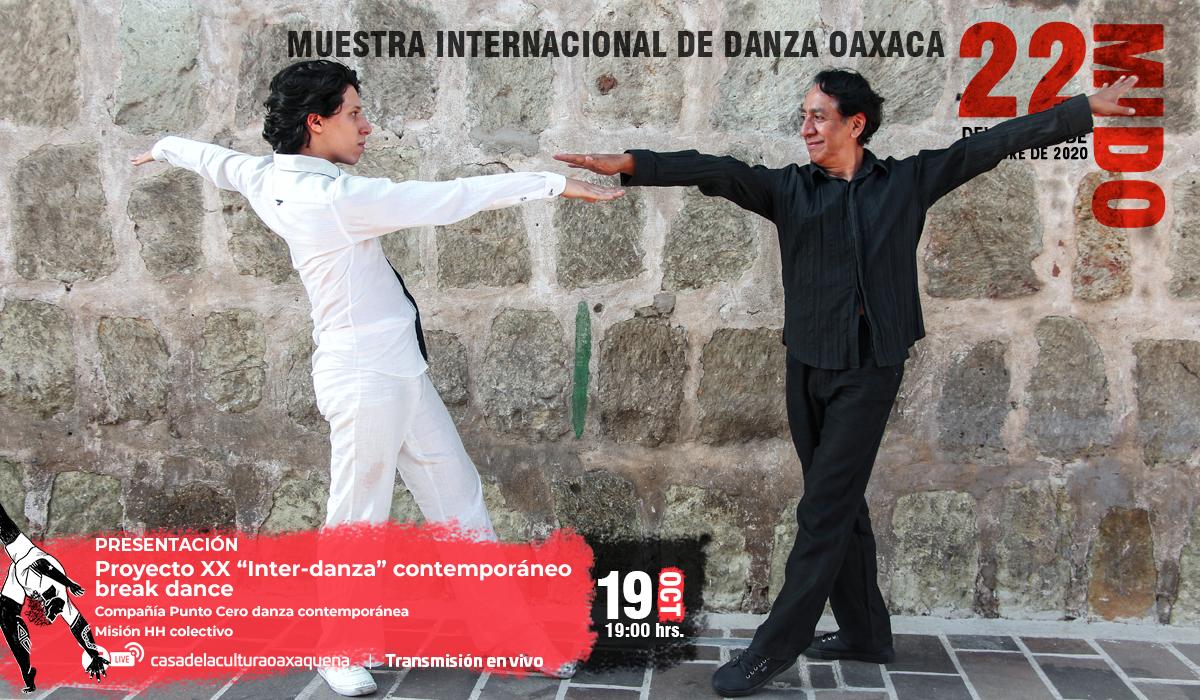 """Con Proyecto XX """"Inter-danza"""" contemporáneo y break dance, cierra la 22 MIDO"""