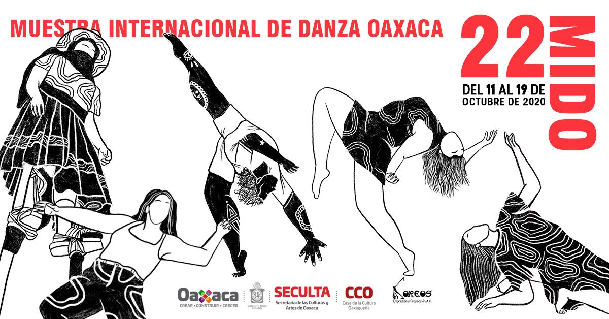 Llega la 22 Muestra Internacional de Danza Oaxaca (MIDO) en su debut virtual