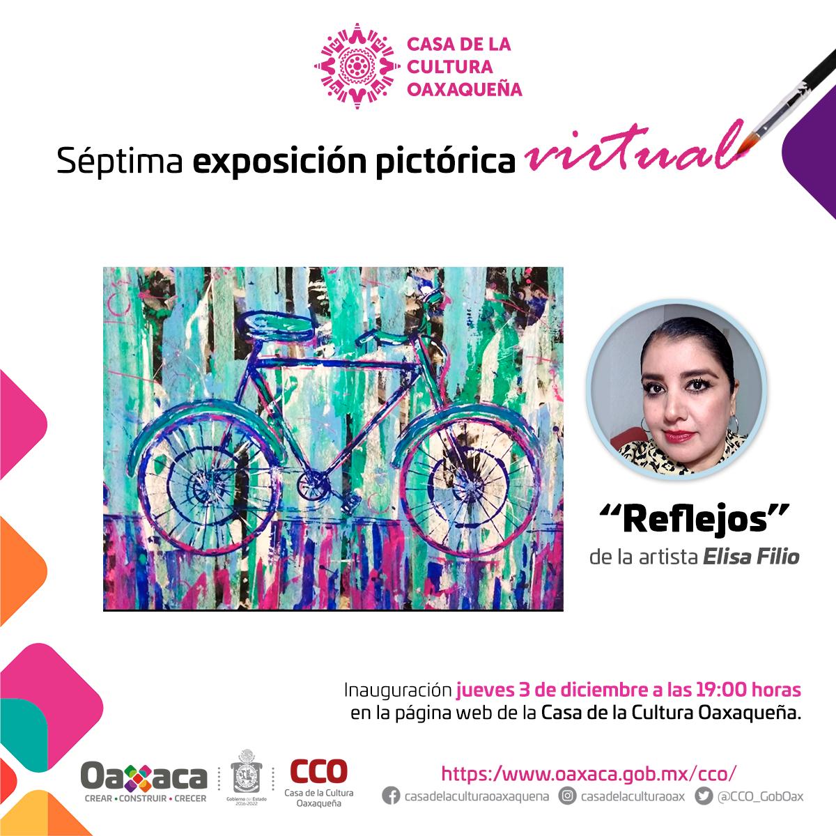 Anuncia la Casa de la Cultura Oaxaqueña su séptima exposición virtual