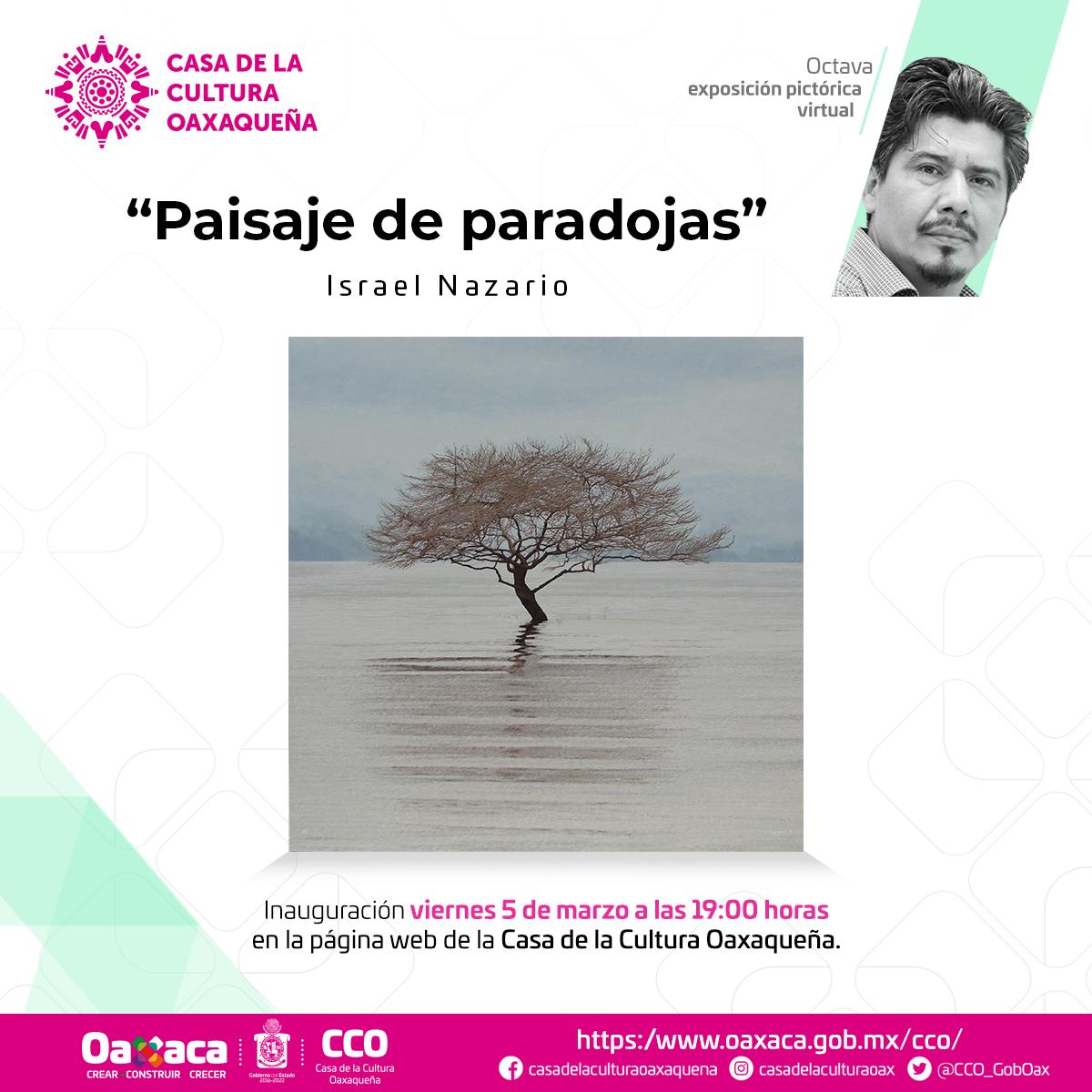 """Llega """"Paisaje de Paradojas"""" de Israel Nazario a la galería virtual de la CCO"""