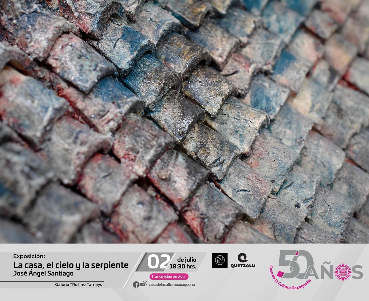 """Exhibirá CCO la exposición """"La Casa, el cielo y la serpiente"""" de José Ángel Santiago"""