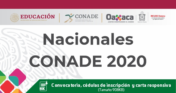 Nacionales CONADE 2020