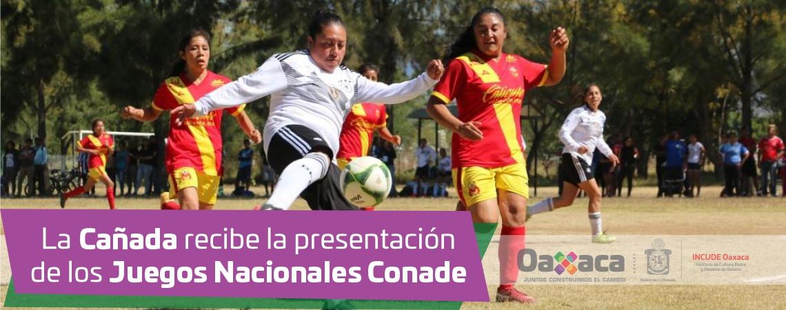 La Cañada recibe la presentación de los Juegos Nacionales Conade