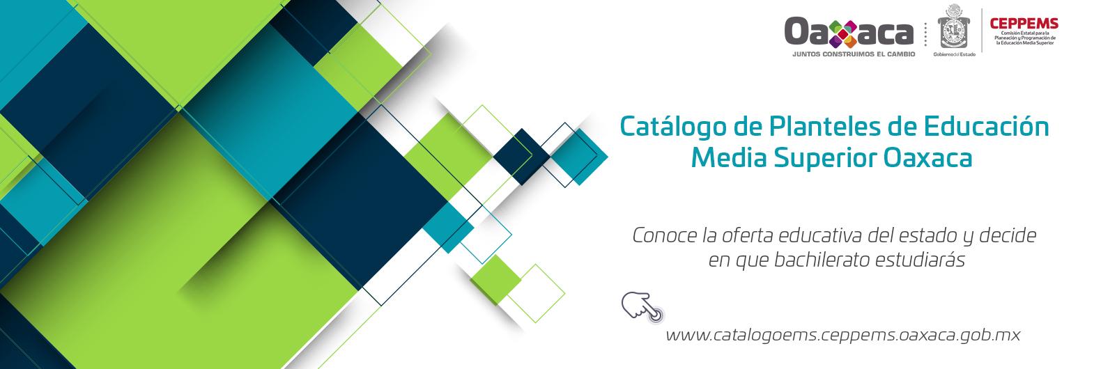 Catálogo de Planteles de Educación Media Superior del Estado de Oaxaca