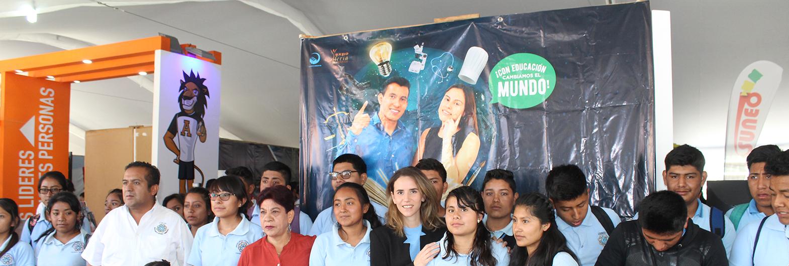 Inauguración de Exporienta Educativa y de Posgrado 2019