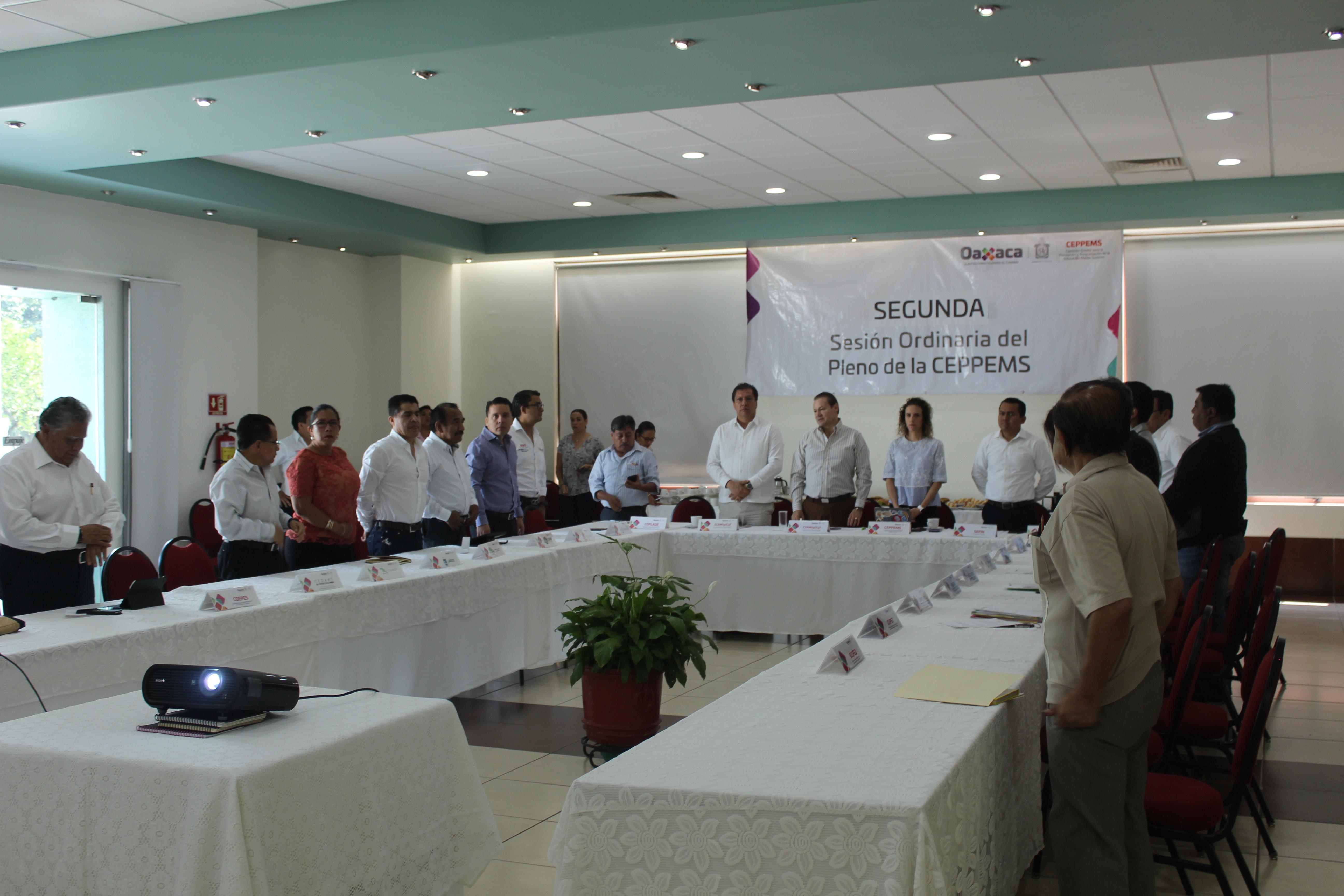 Segunda Sesión Ordinaria de la CEPPEMS