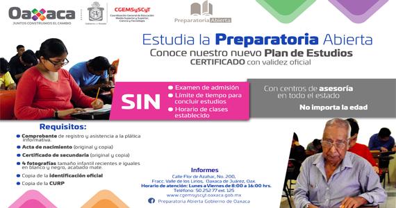 Preparatoria Abierta Oaxaca