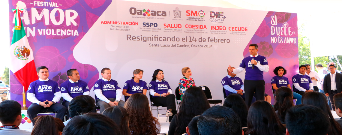 Festival Amor sin Violencia Oaxaca