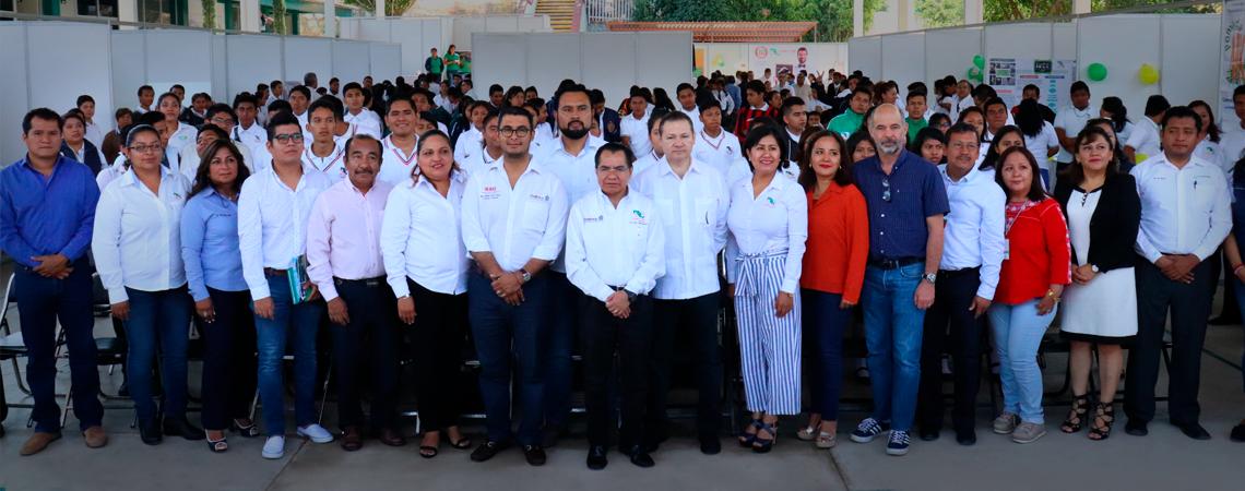 Inauguración de la Feria Estatal de Ciencia, Emprendimiento e Innovación Tecnológica 2019 del CECyTEO