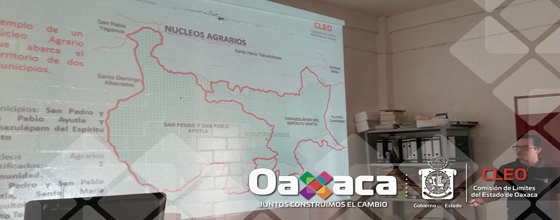 Comisión realizada a los municipios Oaxaqueños: Santiago Jocotepec, Santiago Yaveo  y San Juan Lalana en la Región de la Cuenca del Papaloapan.