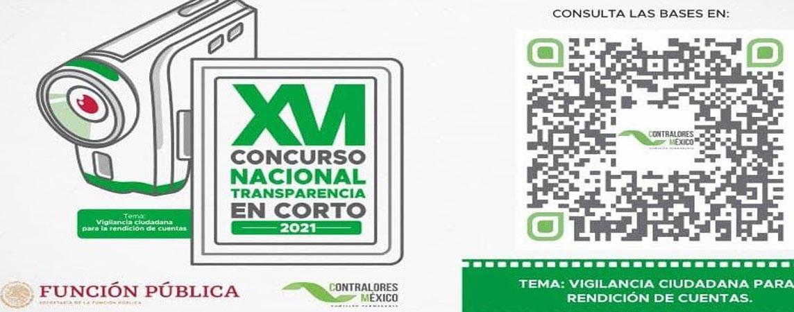XVI Concurso Nacional de Transparencia en Corto 2021