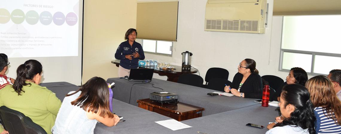 Continúa Coesida con taller para la atención a la alerta de la violencia de género