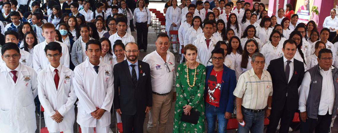 Conmemoran Coesida y Ayuntamiento de Santa Lucía del Camino Día Nacional de la Prueba de VIH