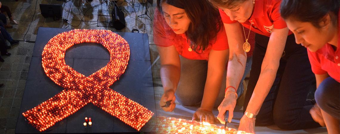 Conmemora Coesida Día Mundial del Sida en Museo de Arte Contemporáneo de Oaxaca