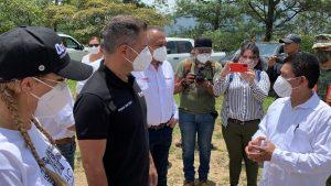 Encabeza Alejandro Murat 4to recorrido en comunidades afectadas por sismo